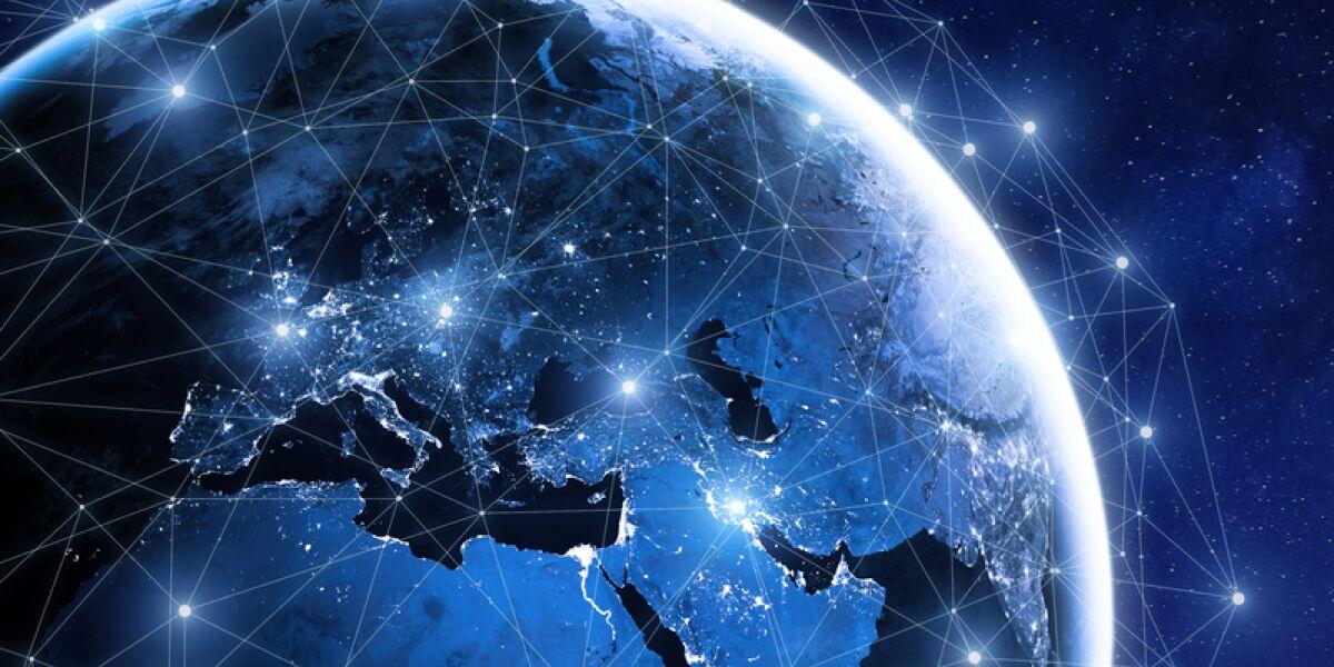Satelliten-Netz