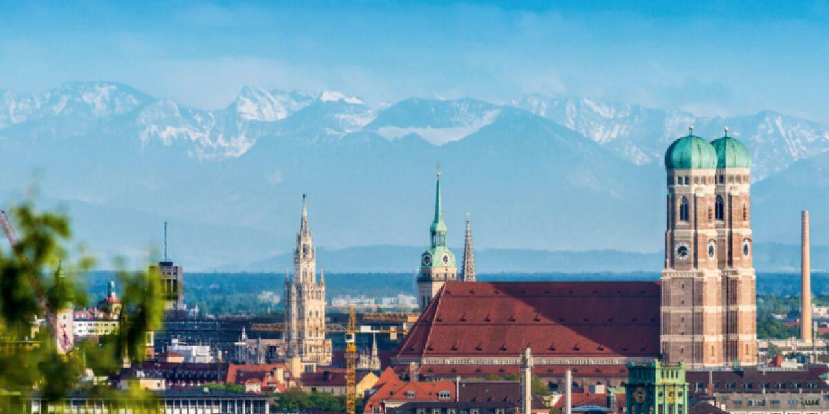 Alpenpanorama in München