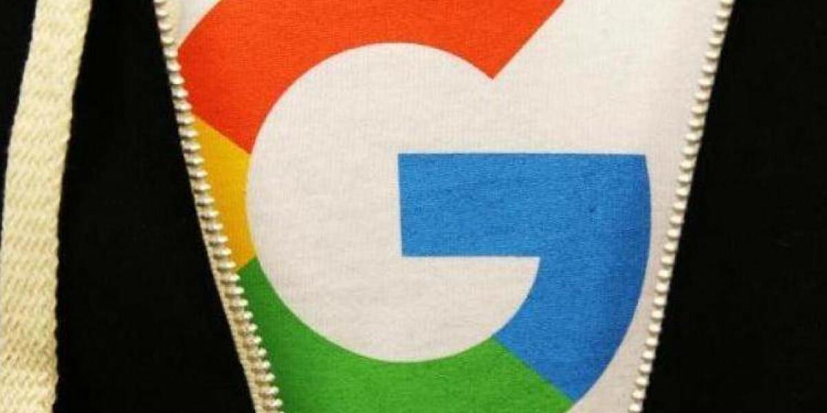 Google-Logo auf T-Shirt