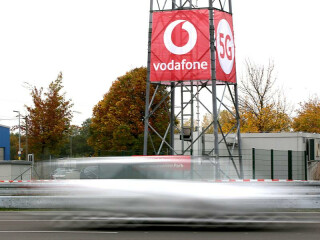 Vodafone 5G-Testgelände in Neuss