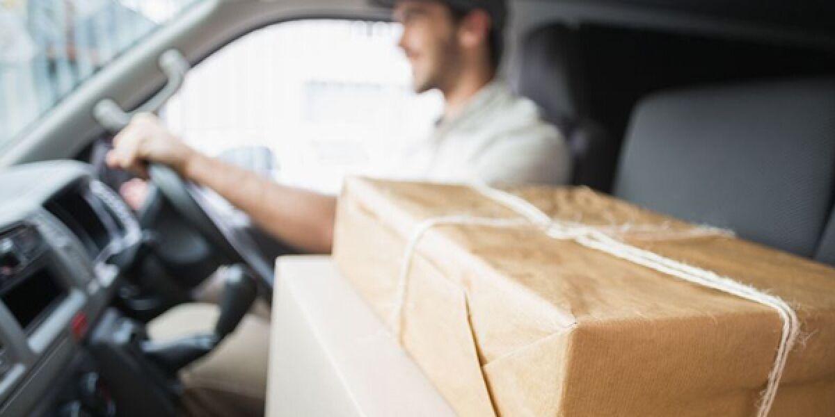 Paket-Fahrer