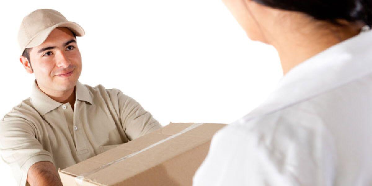 Paket-Lieferung