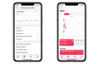 Messung in der Health-App