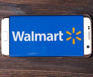 Walmart auf dem Smartphone