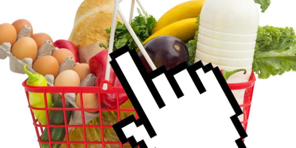 Lebensmittel aus dem Netz