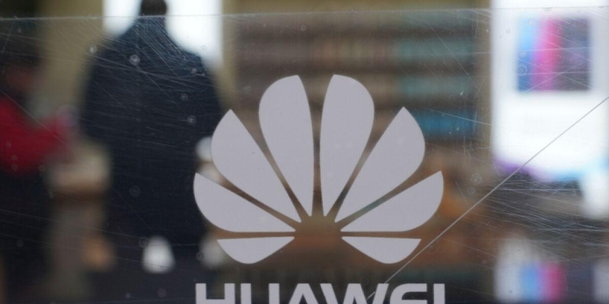 Zerkratztes Huawei-Display