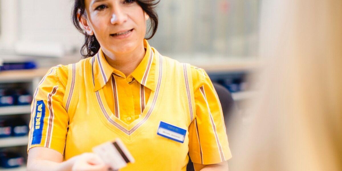 Ikea-Mitarbeiterin