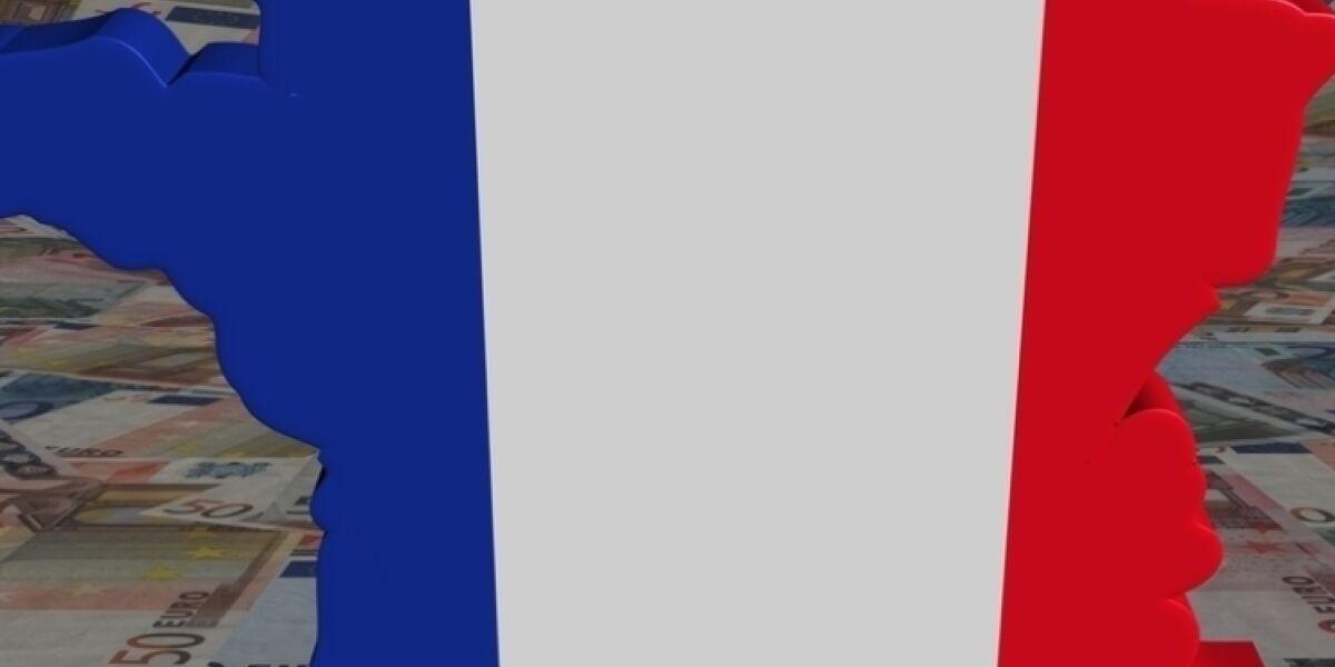 Fläche von Frankreich vor Euro