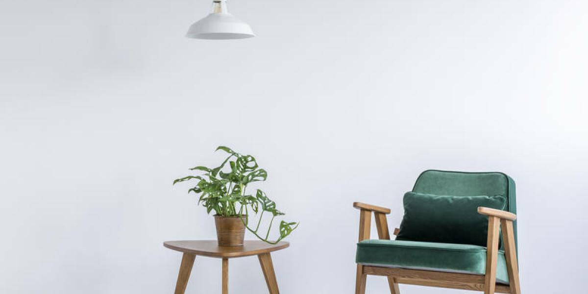 Stuhl und ein Tisch