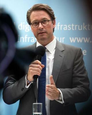 Bundesinfrastrukturminister Andreas Scheuer