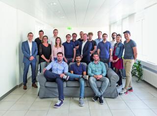 Teamfoto von Procivis
