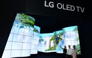 LG OLED-Canyon auf der IFA 2018
