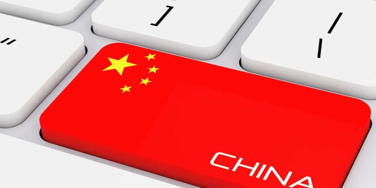 China auf PC-Taste
