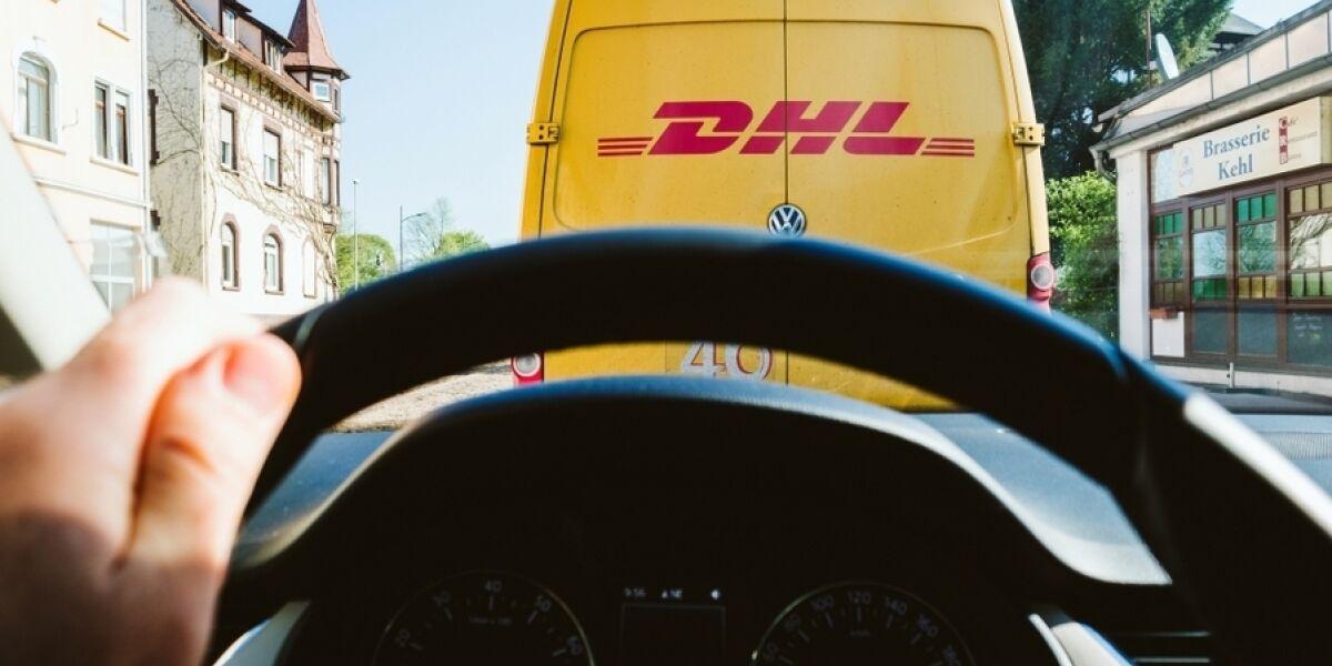 DHL Lieferfahrzeug