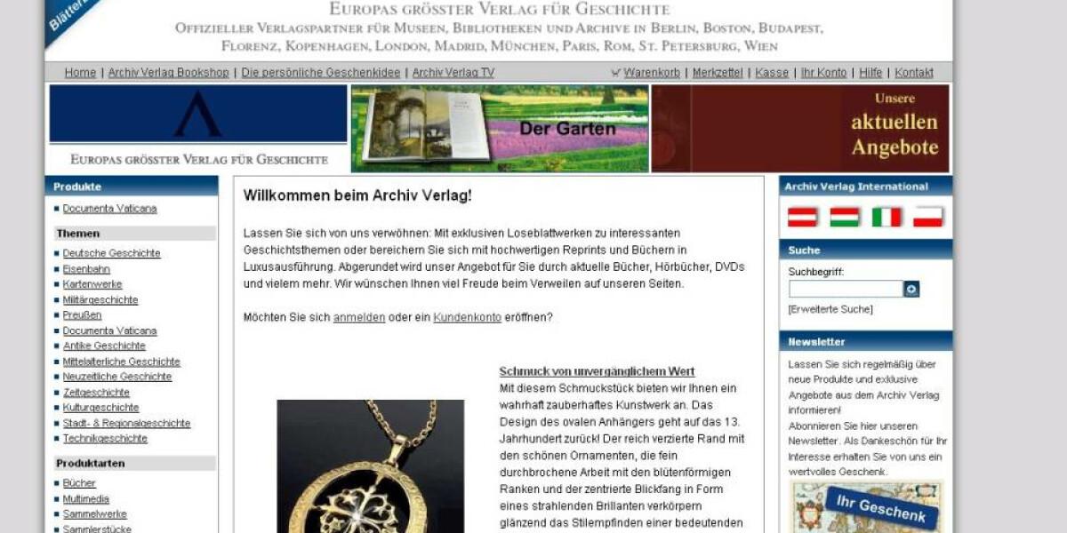 Archiv-Verlag setzt auf Online-Videos von Sommer & Co.