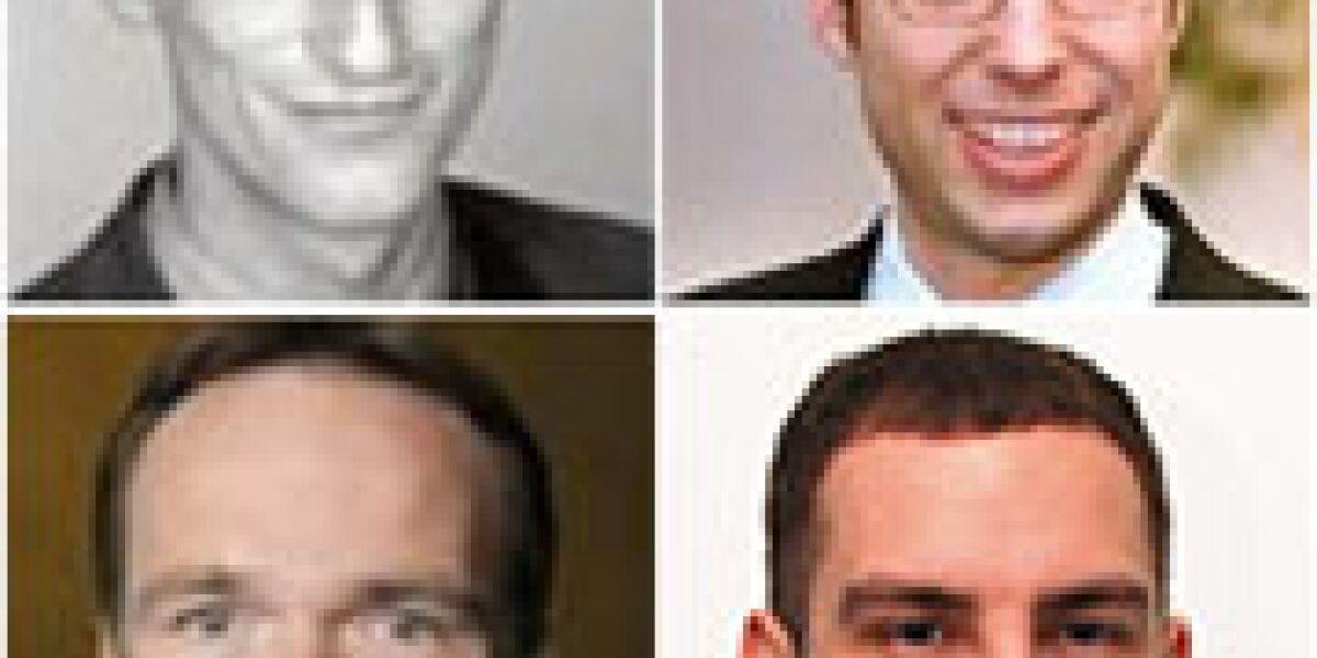 Dr. Bernd Henning, Christian Vollmert, Benedikt Hanswille und Mirko Klopfleisch