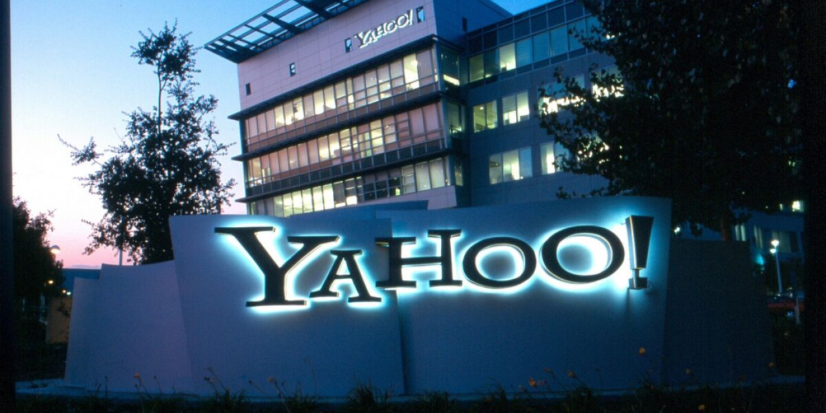 Yahoo-Headquarter in den USA