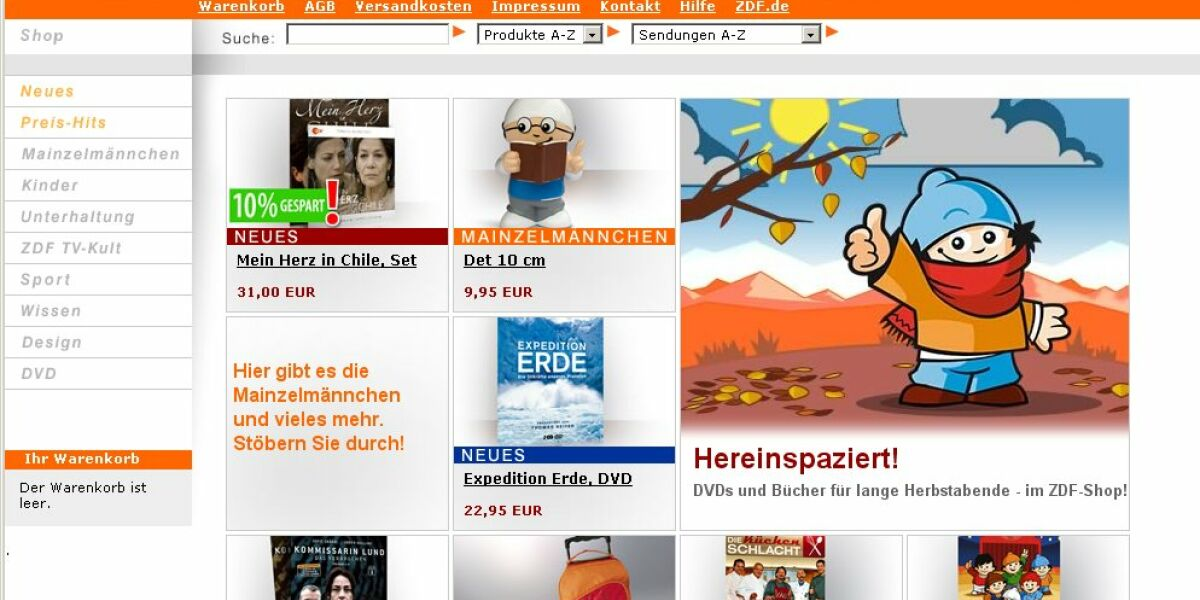 ZDF-Shop