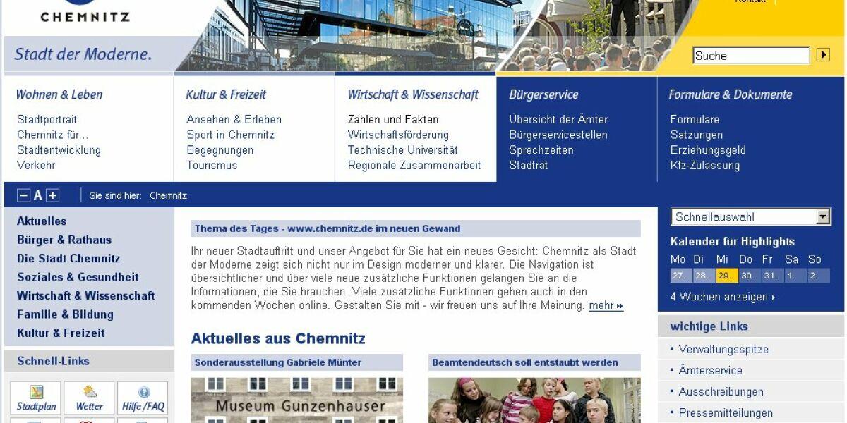 Stadportal Chemnitz