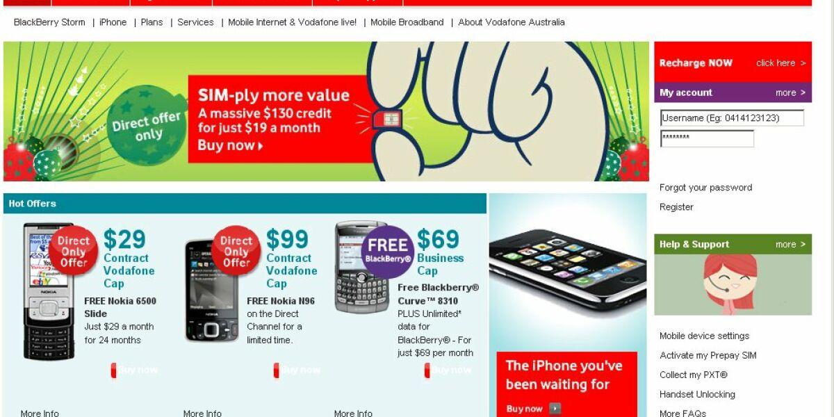 Vodafone-Australia