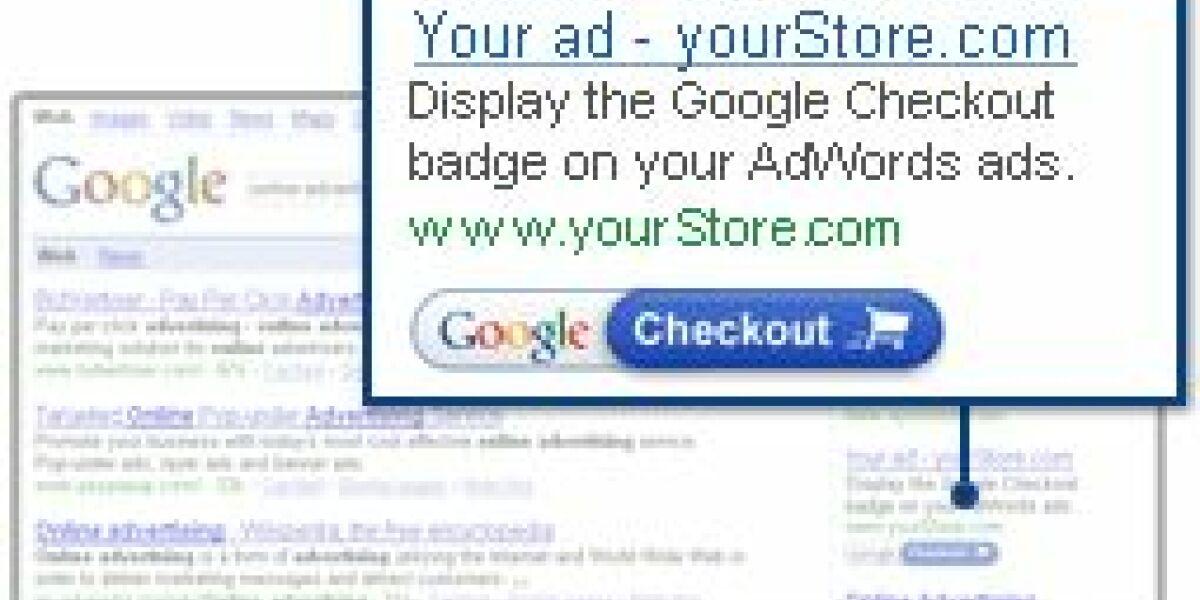Illustration Google Checkout