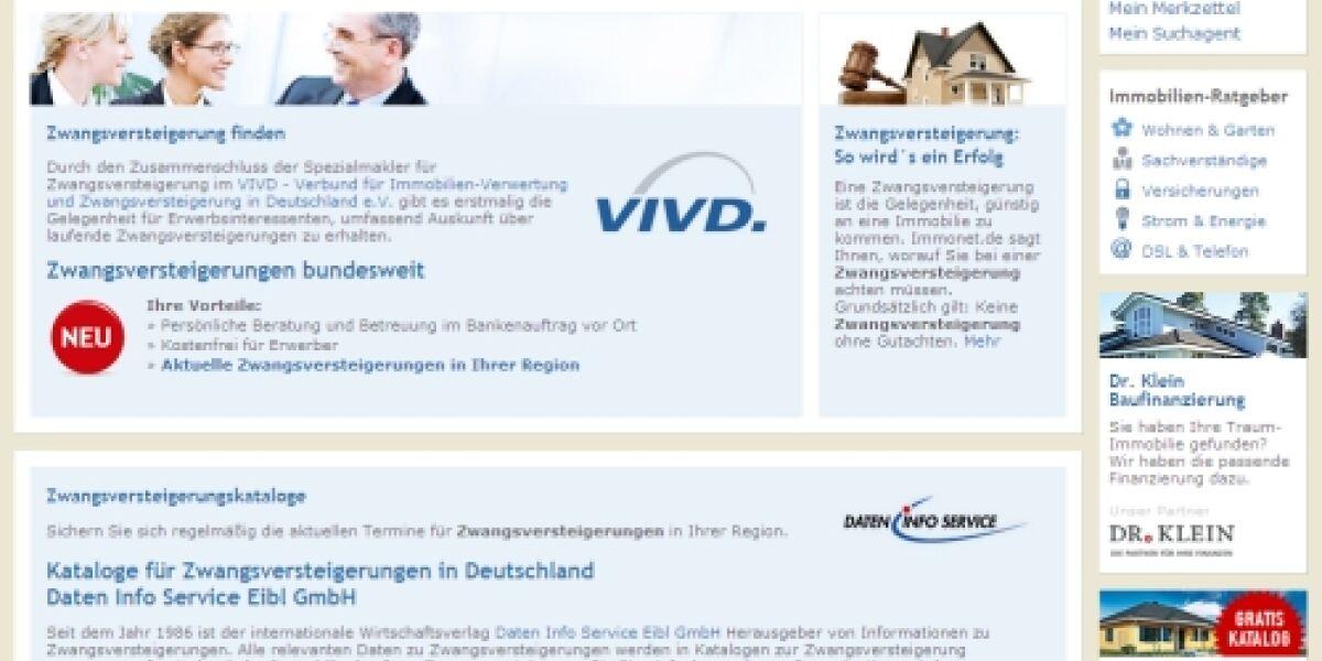VIVD kooperiert mit Immonet
