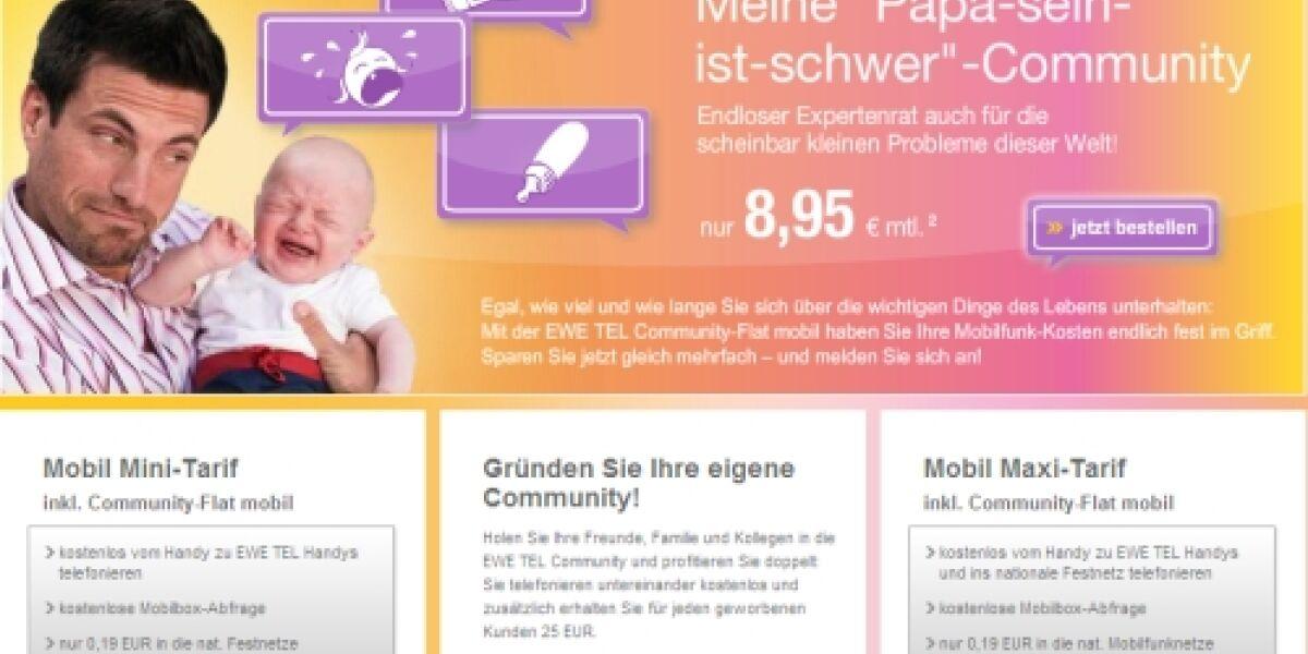 hmmh launcht Onlinekampagne für EWE TEL
