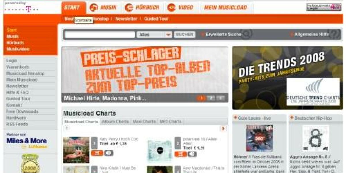 Musicload bietet Musiktitel ohne Kopierschutz an