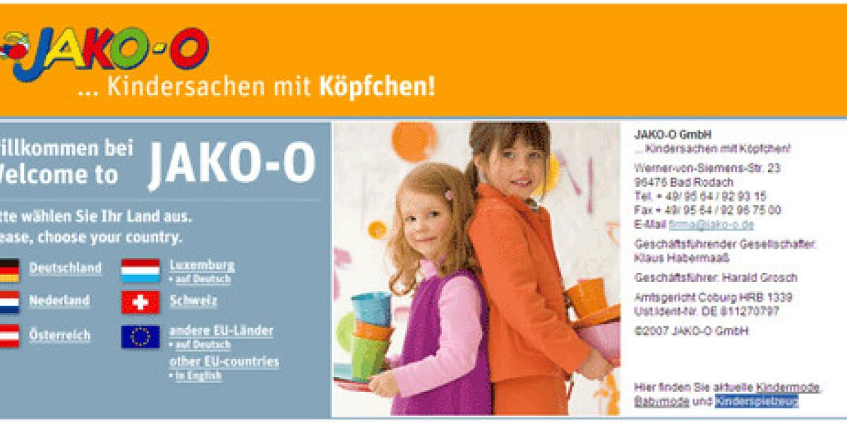 JAKO-O mit Newsletterservice von Ecircle