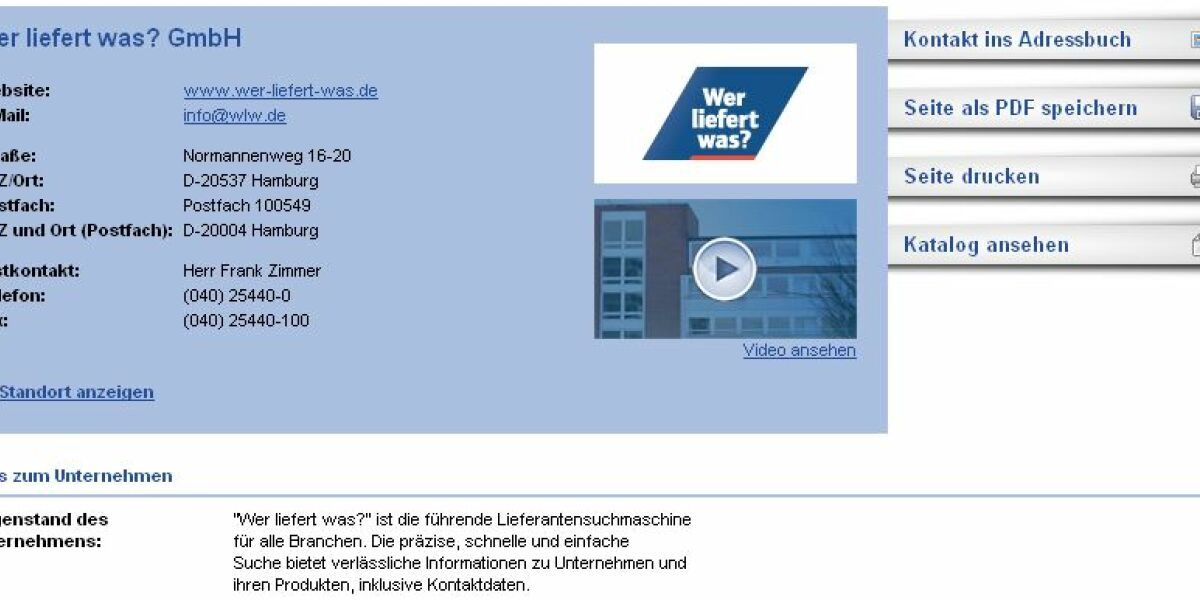 Screenshot Wer-liefert-was.de
