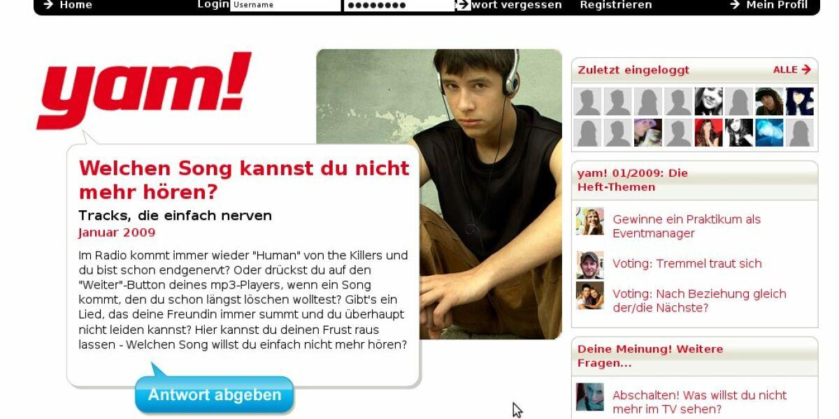 Yam-Screenshot