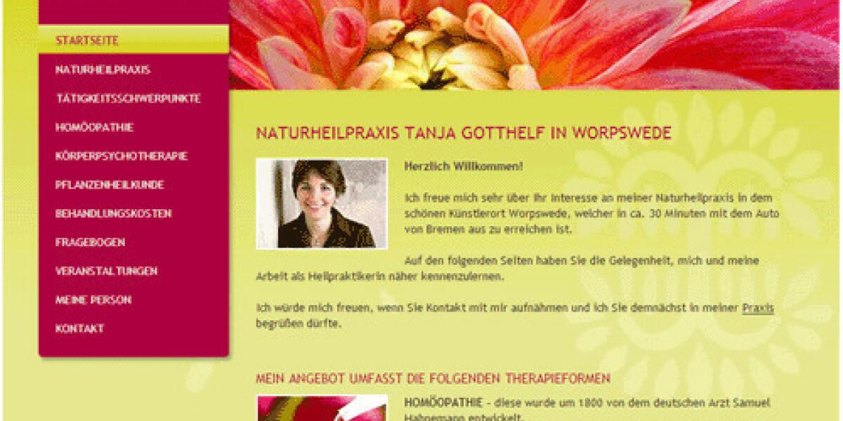 artundweise launcht Webseite für Naturheilpraxis