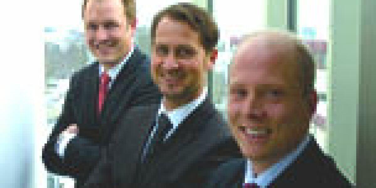 Christian Gudereit, Henning Munte und Marko Reinbacher
