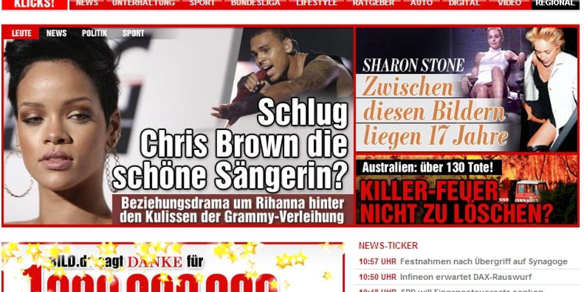 Eine Millarde PIs für Bild.de