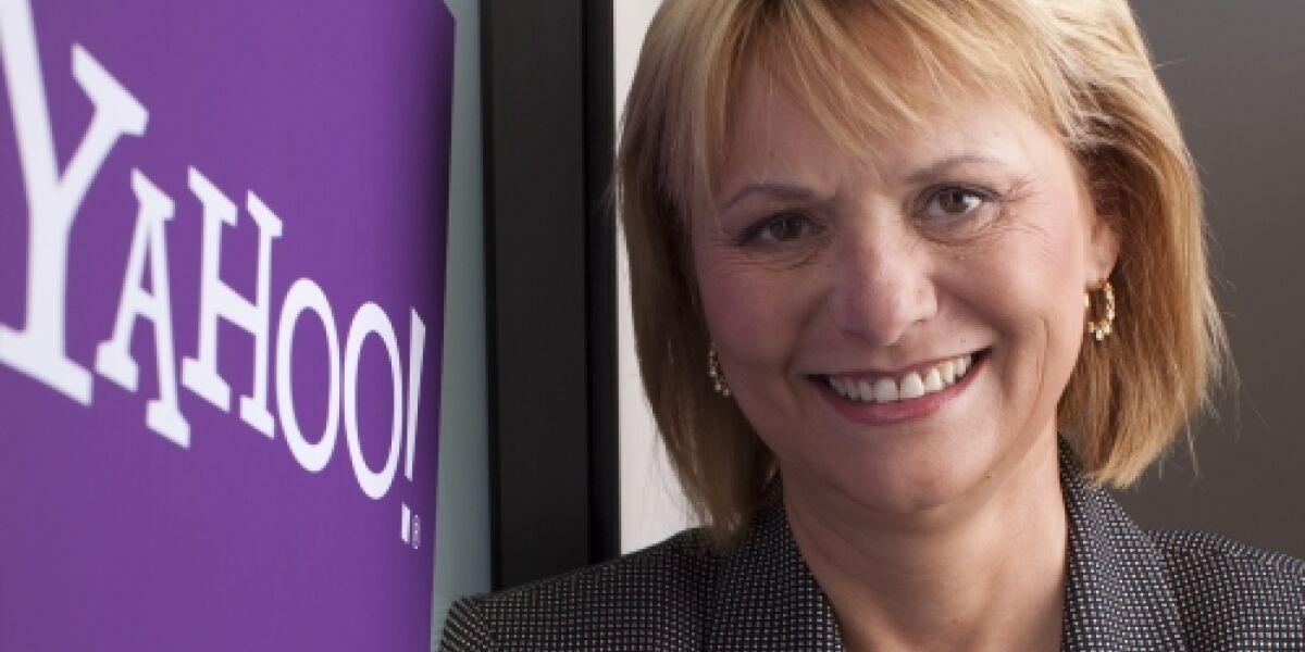 Neue Struktur für Yahoo?