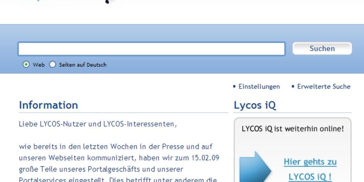 Sozialplan für Lycos