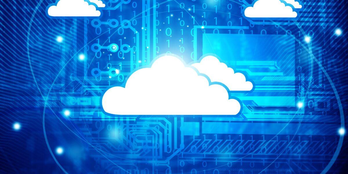 Cloud Computing Wolke