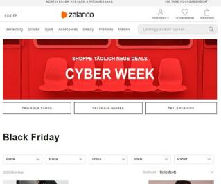 Cyberweek Zalando