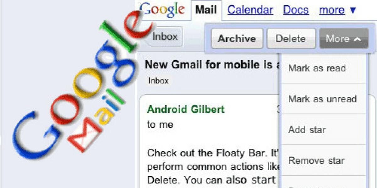 Google bringt neue mobile Gmail-Versionen