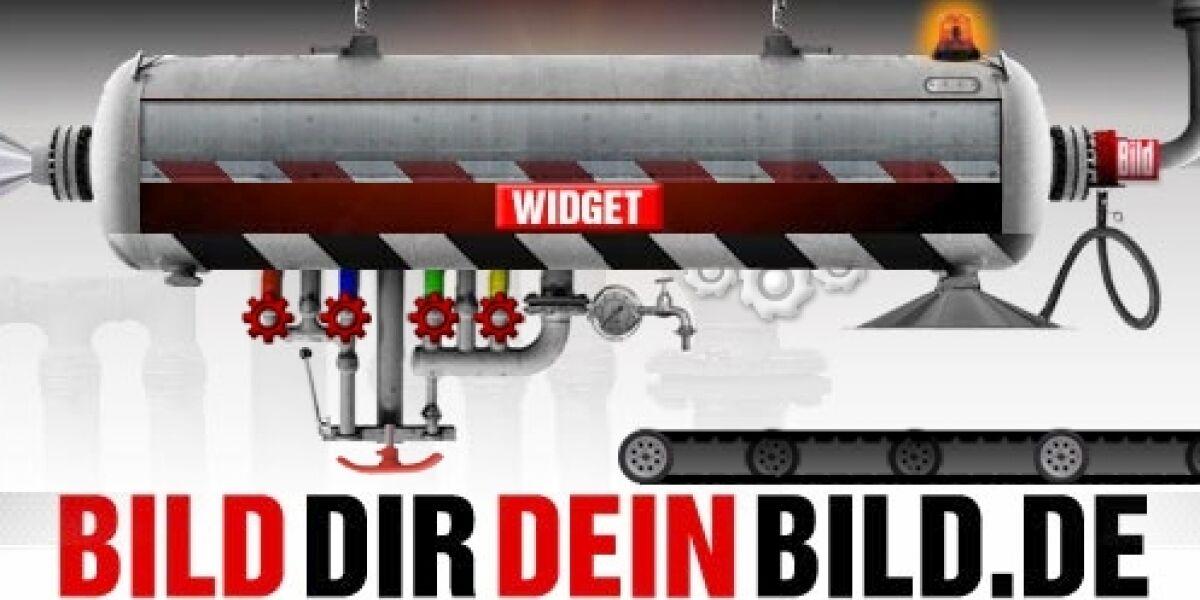 Bild.de bietet Nachrichten-Ticker als Widget an
