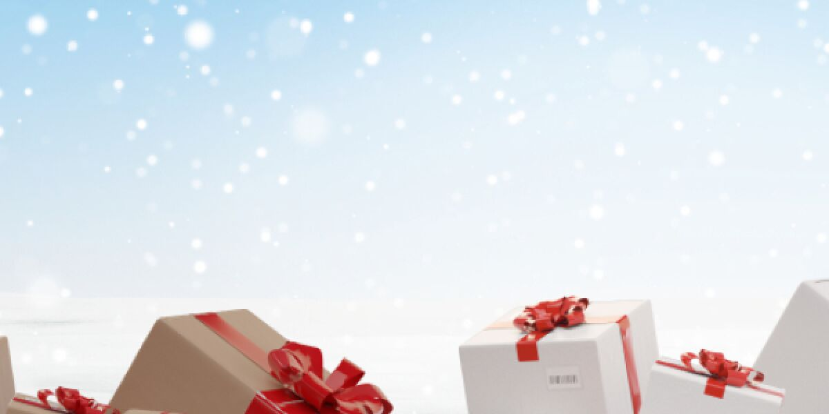 Pakete zu Weihnachten