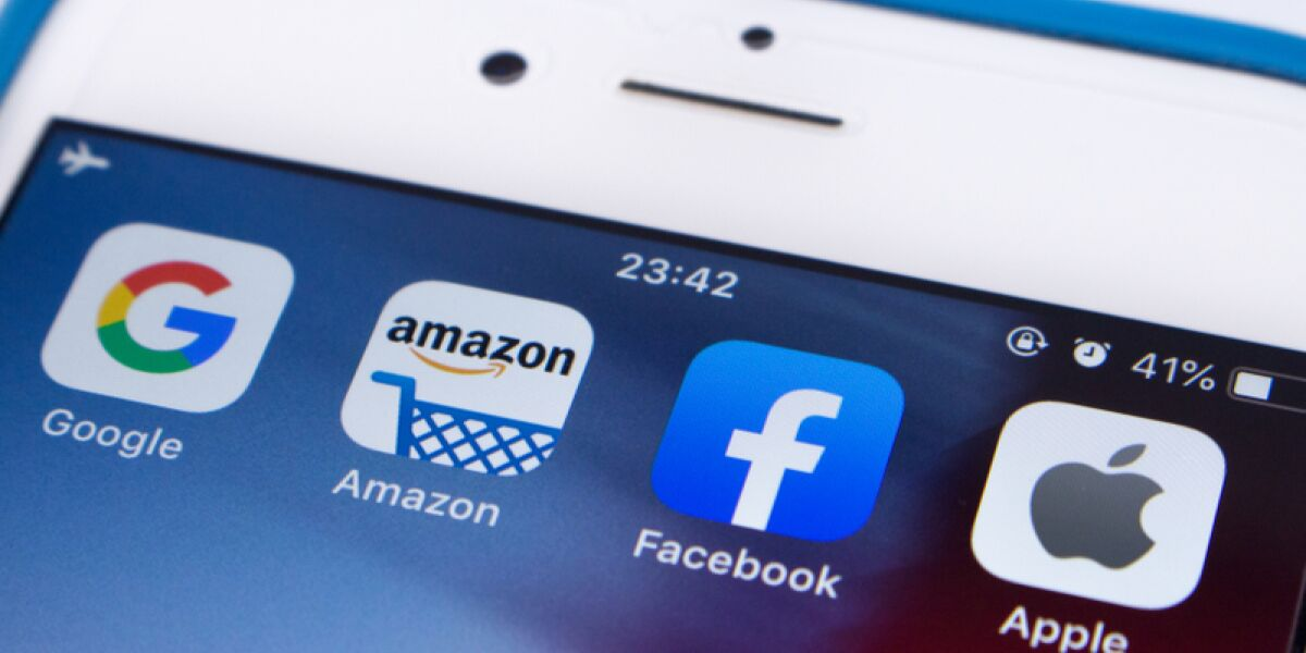 Google, Facebook, Amazon, Apple