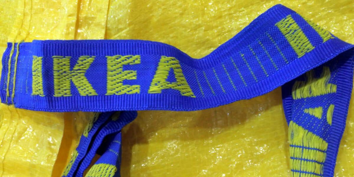 Ikea-Tasche