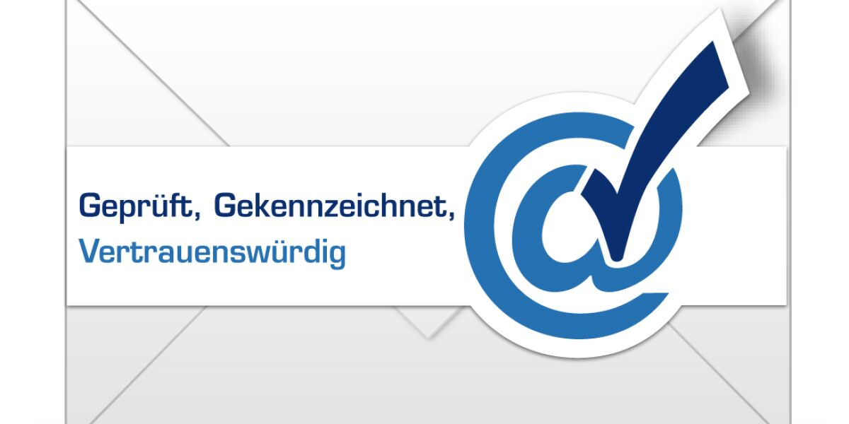 Mails mit Markenlogo für mehr Vertrauen