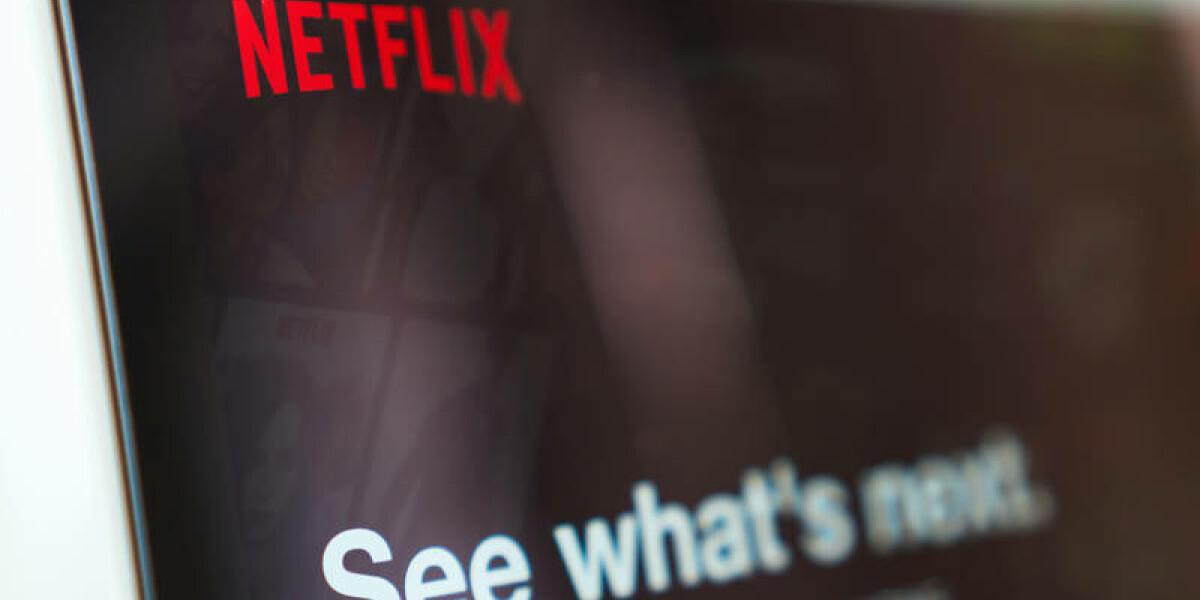 Netflix auf einem Screen