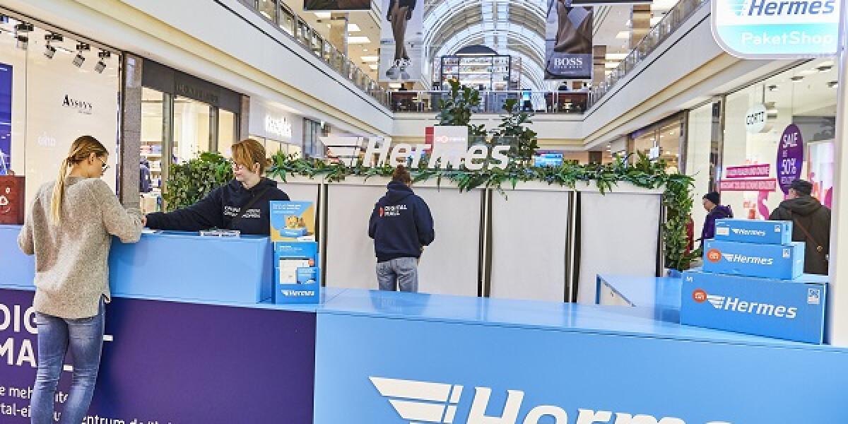 Pop-up Store von Hermes in der Mall