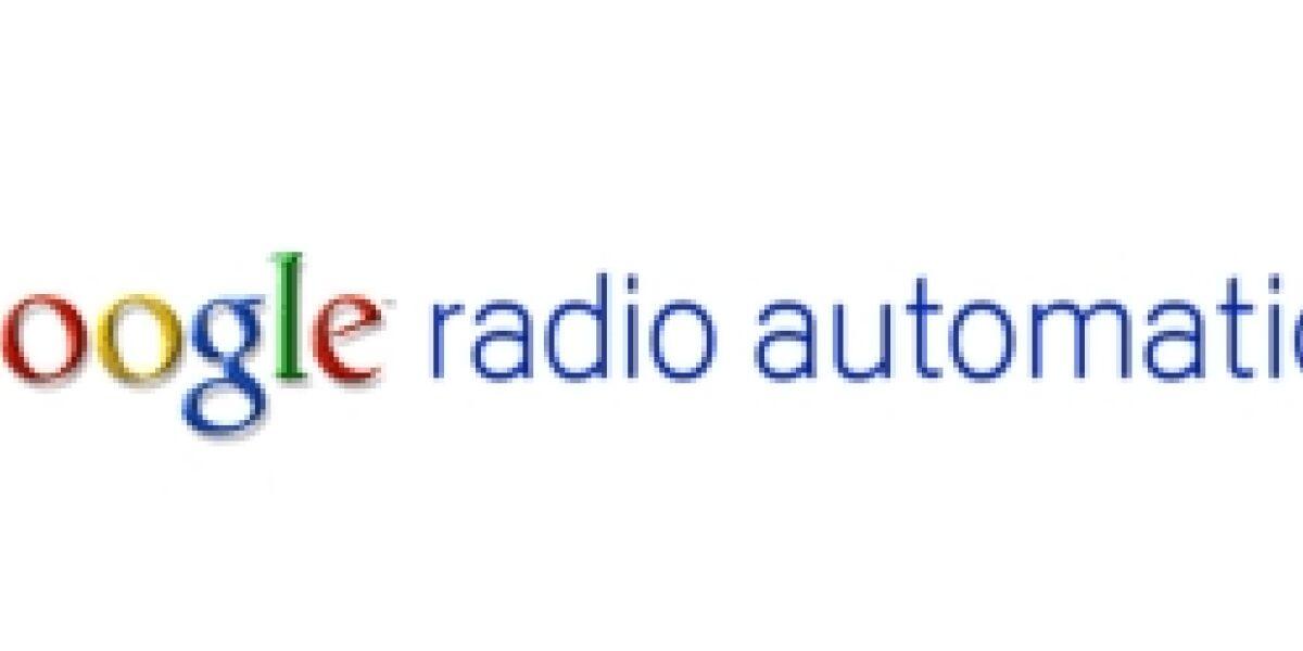 Google verkauft Radio-Vermarktungsgeschäft