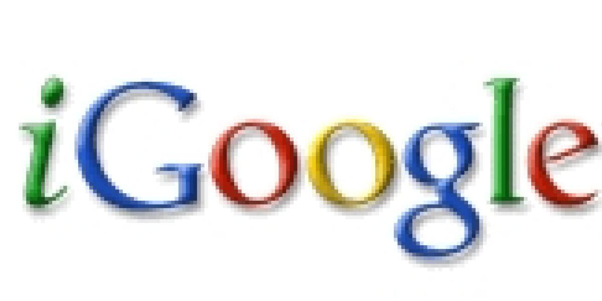 Google startet neue Version von iGoogle