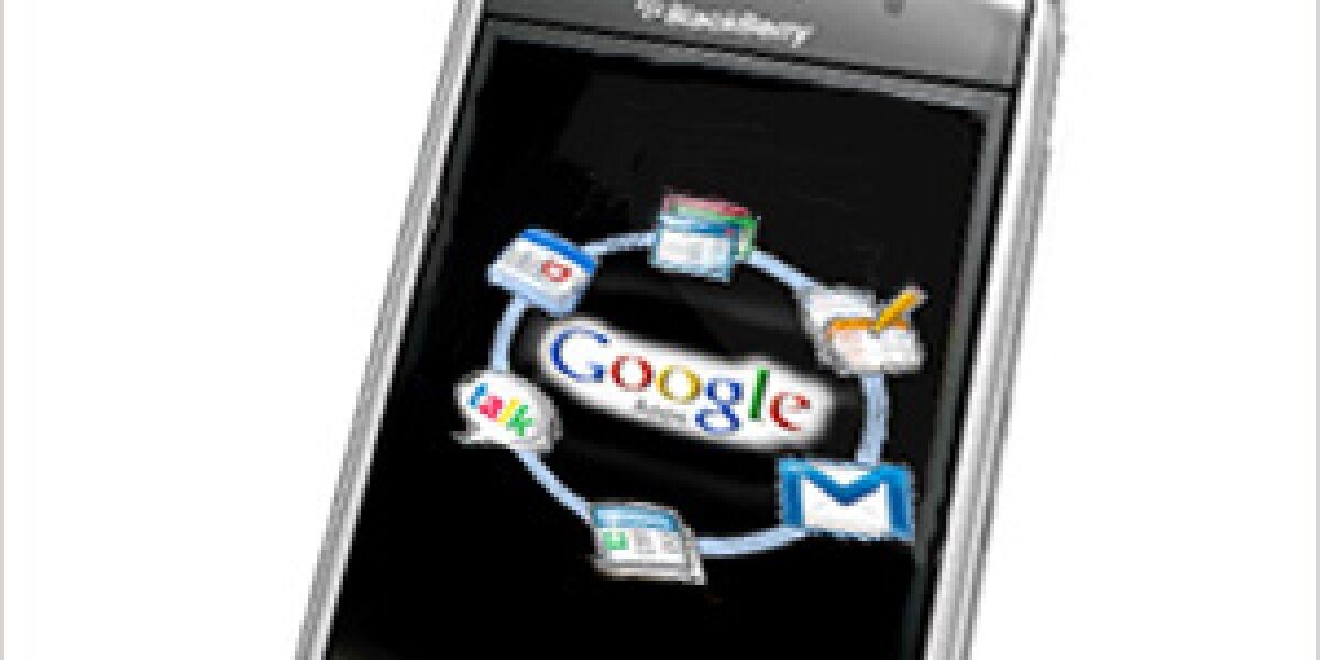 Google Apps für Blackberry