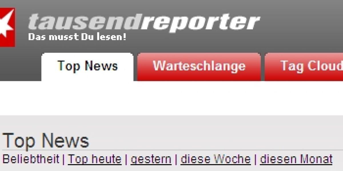 Stern.de stellt tausendreporter ein